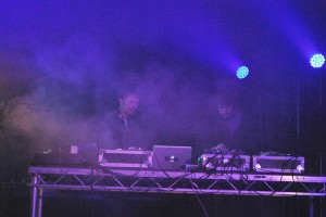 Ben Osborne and Si Begg at Latitude